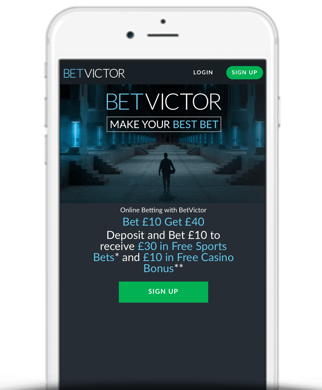 What Is The BetVictor Bet £10 Get £40 Sign Up Offer?