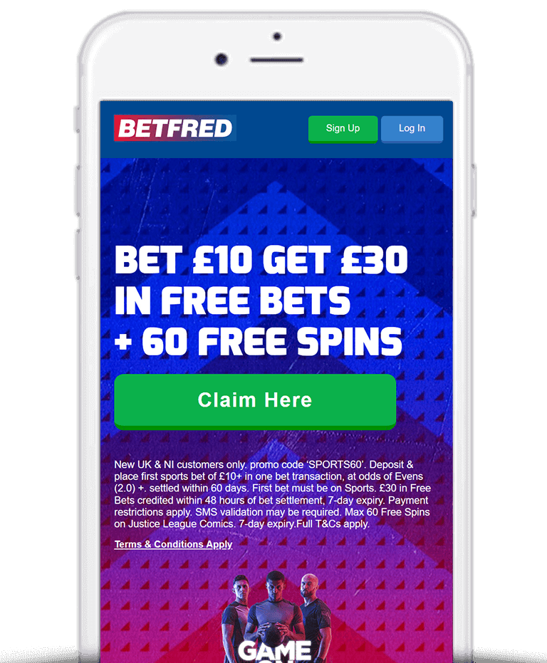 What Is The Betfred Bet £10 Get £30 Free Bet Sign Up Offer?