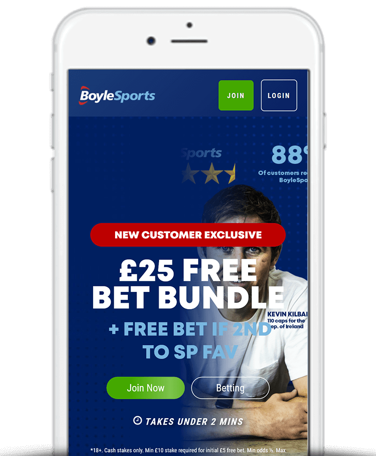 What Is The BoyleSports Free Bet Sign Up Offer?