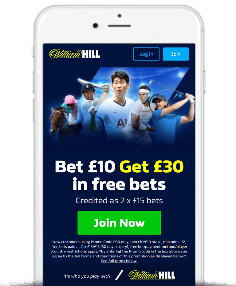 What IsThe William Hill Free Bet Sign Up Offer