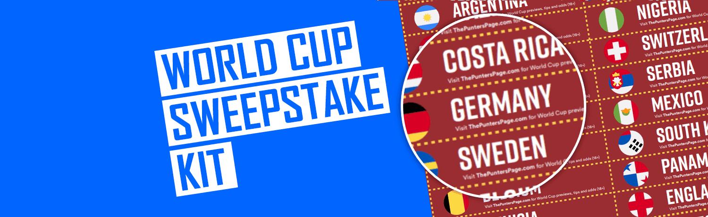 World Cup Sweepstake Kit