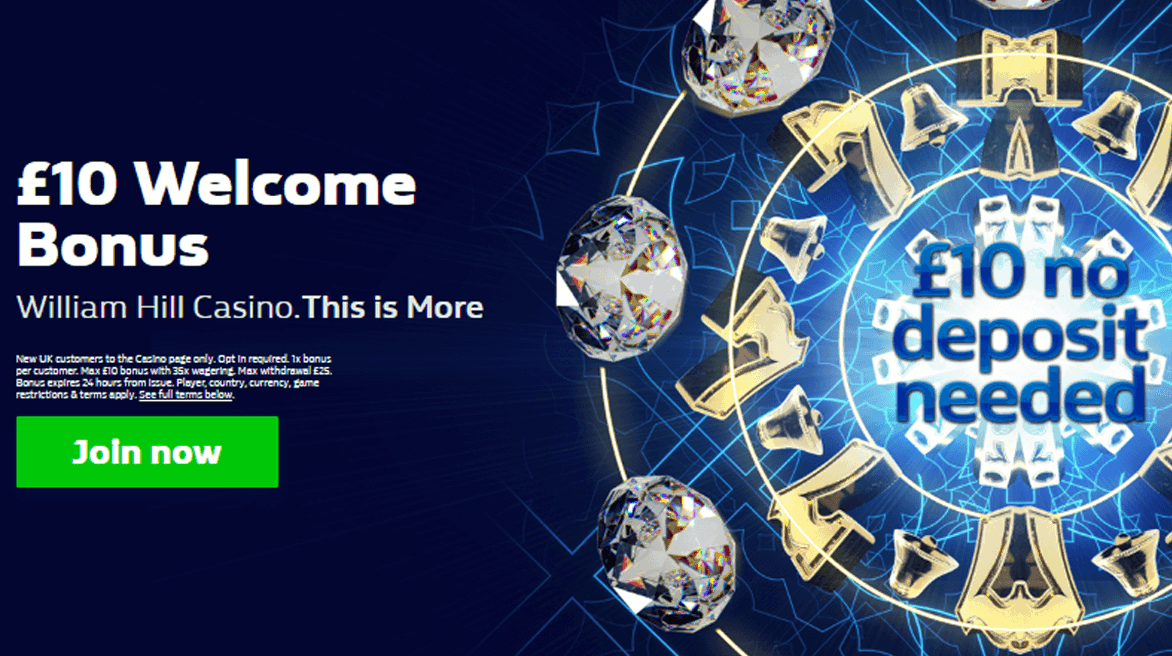 William Hill Free Slots No Deposit