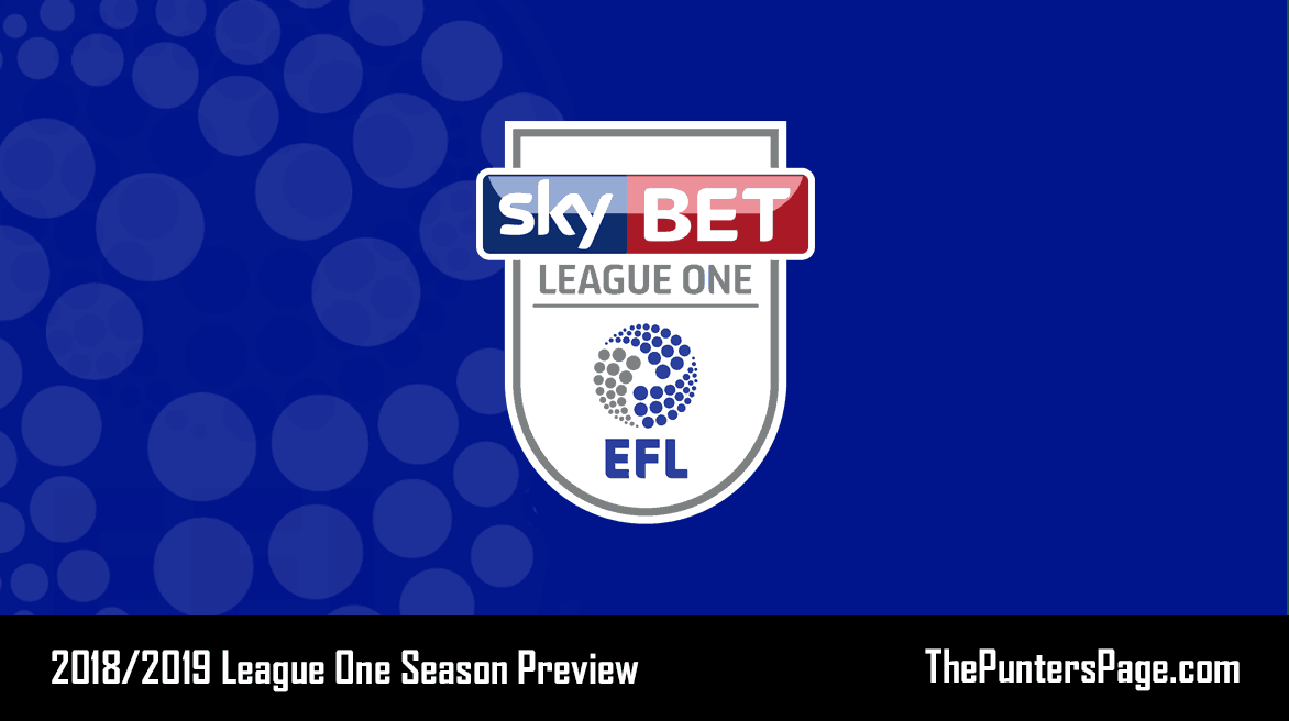 2018-2019 League One Season Betting Preview & Tips