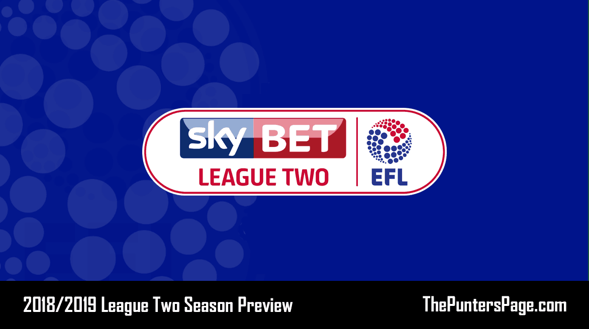 2018-2019 League Two Season Betting Preview & Tips