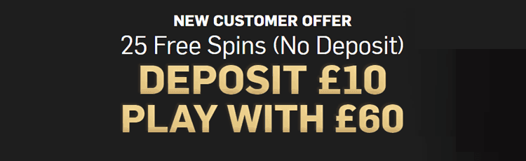 Betfair Casino No Deposit Bonus 25 Free Spins