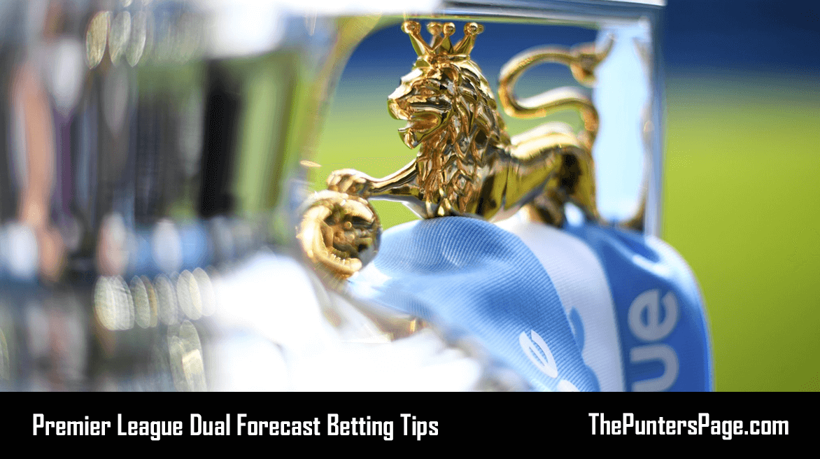 2018-2019 Premier League Dual Forecast Betting Tips