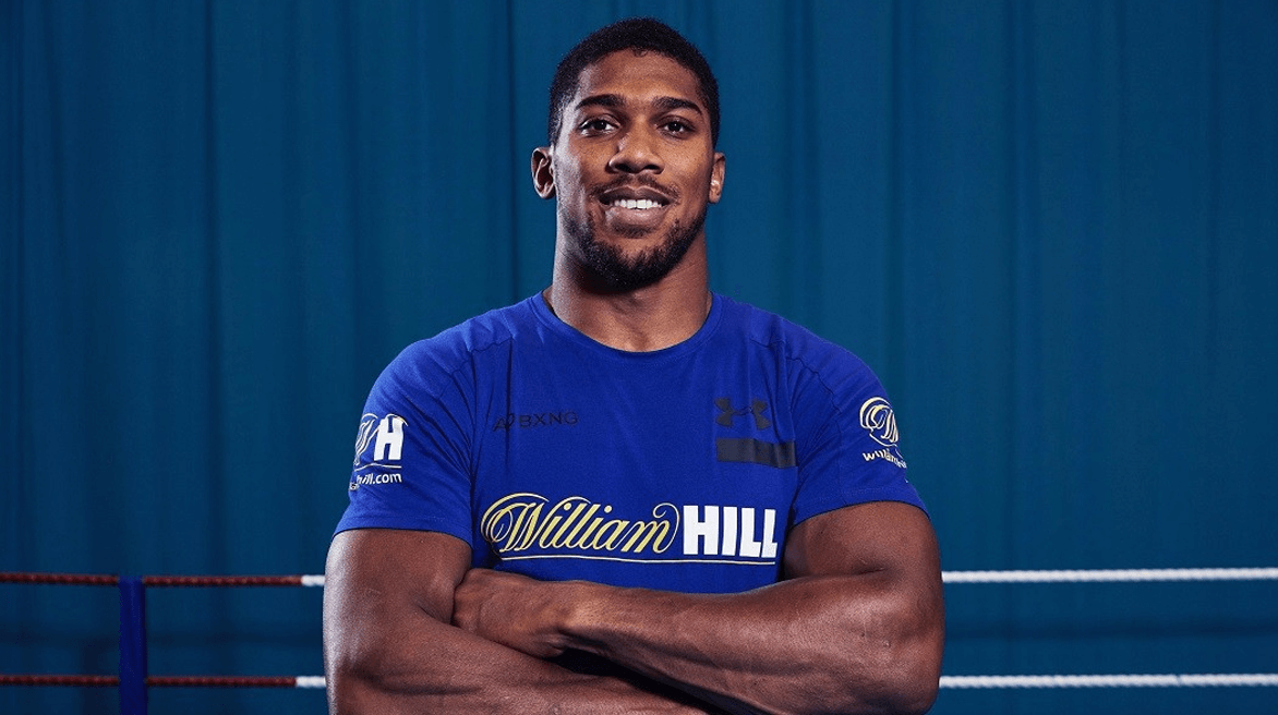 William Hill Announce Anthony Joshua As Global Brand Ambassador