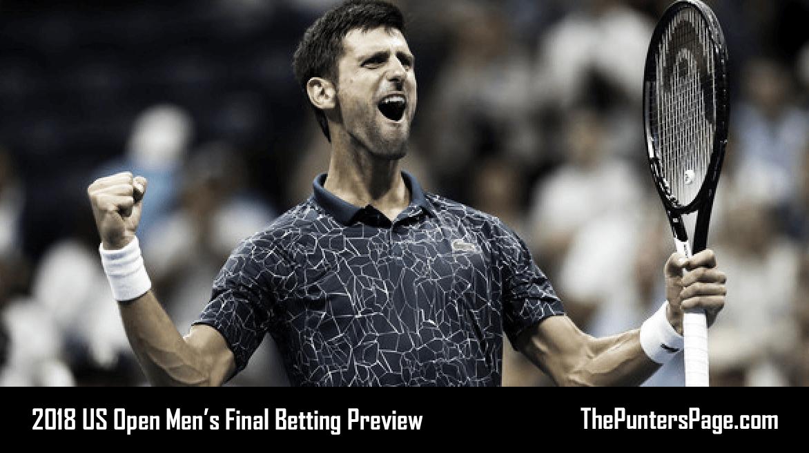 2018 US Open Final: Juan Martin Del Potro v Novak DjokovicBetting Preview & Tips