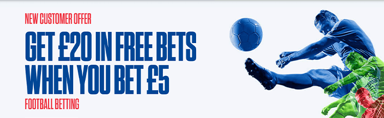 Coral Sportsbook Promotion Code £20