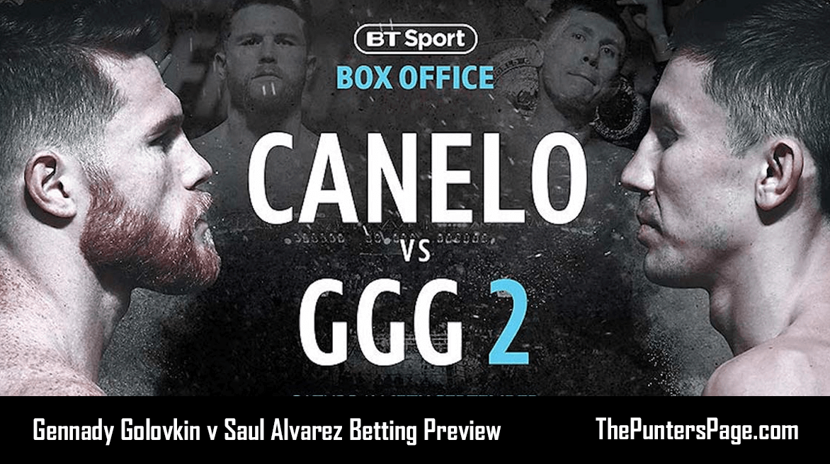 Gennady Golovkin v Saul Alvarez Betting Preview, Odds & Tips
