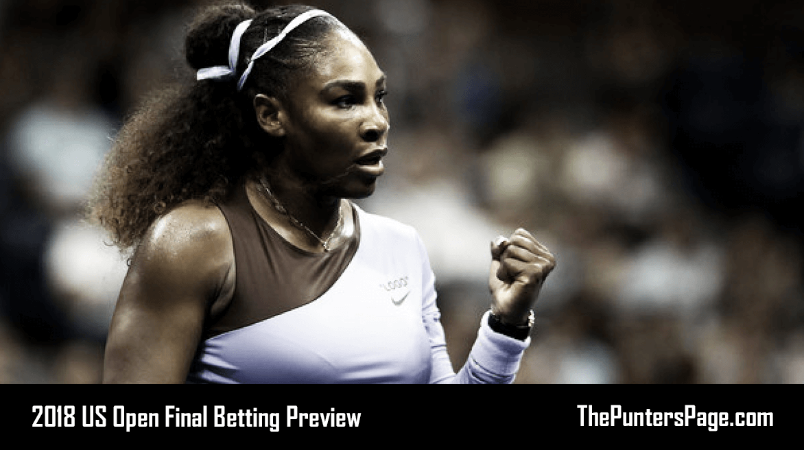 US Open 2018 Serena Williams v Naomi Osaka Betting Preview & Tips