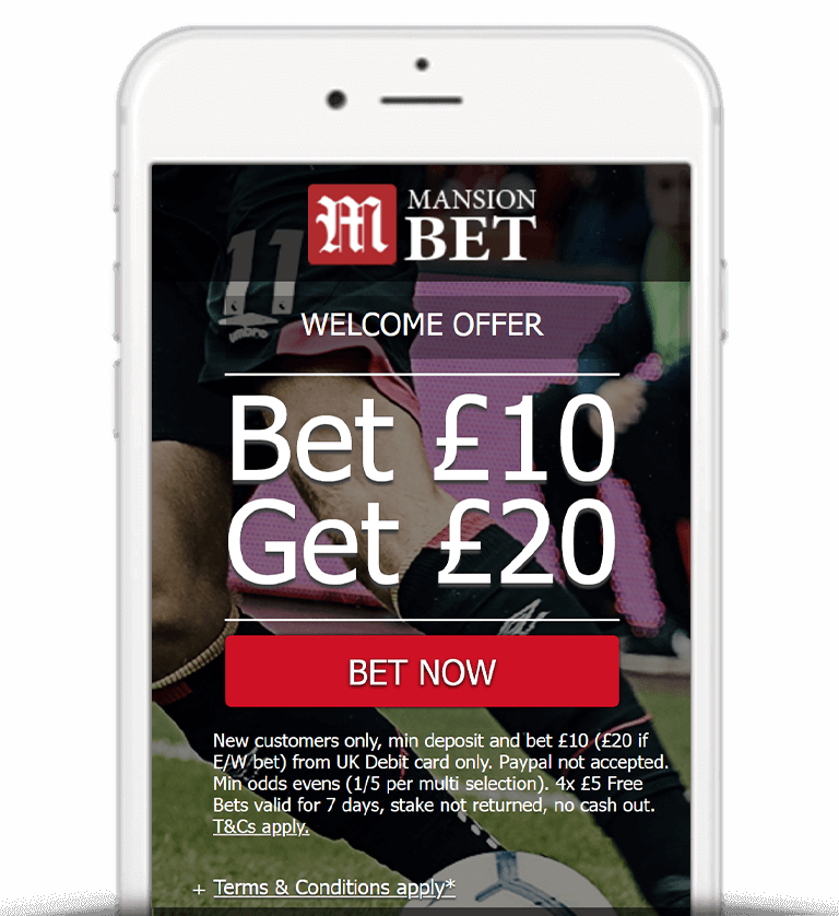 What Is The MansionBet Free Bet Sign Up Offer?