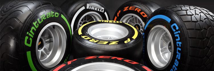 Formula 1 Pirelli Tyres