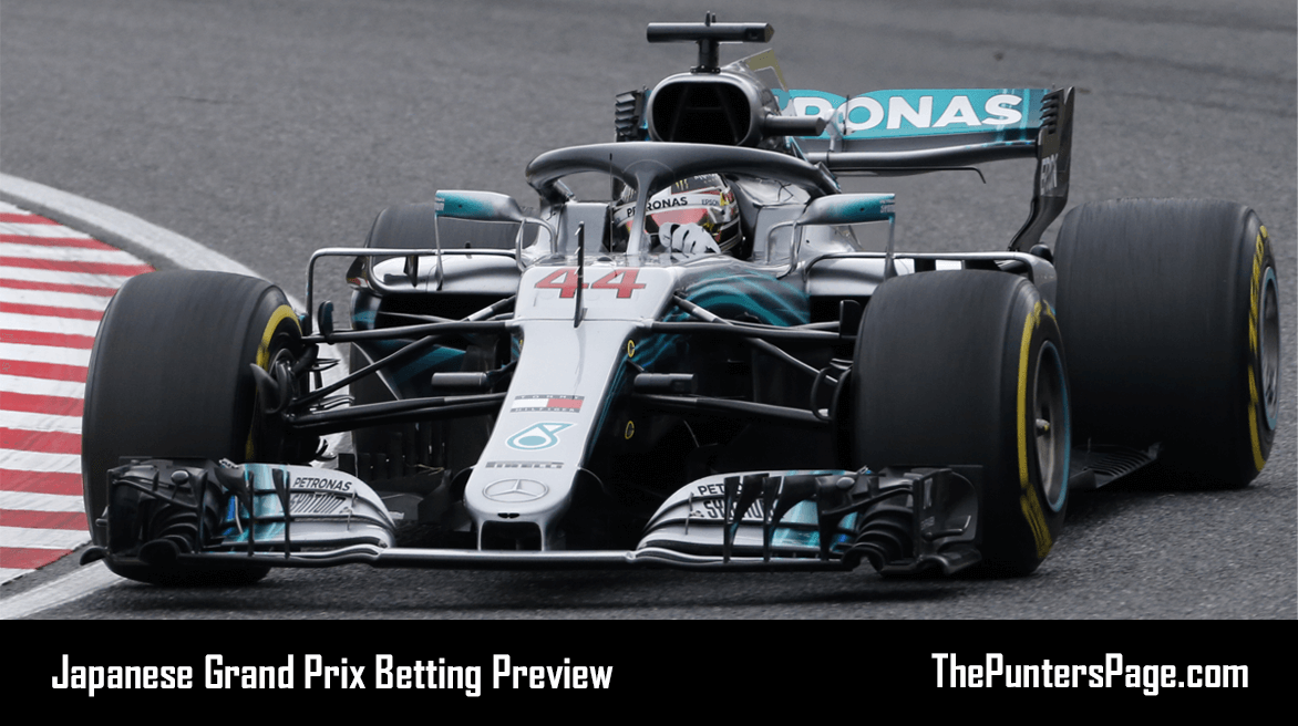 Japanese Grand Prix Betting Preview, Odds & Tips
