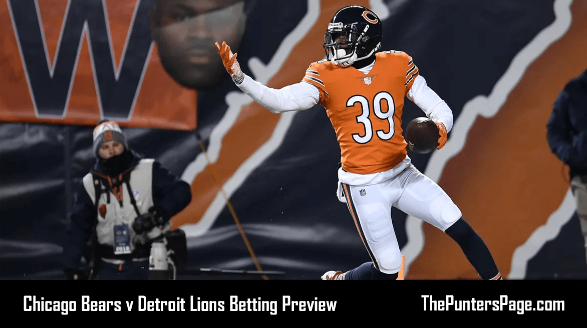 Bears v Lions Betting Preview, Odds & Tips