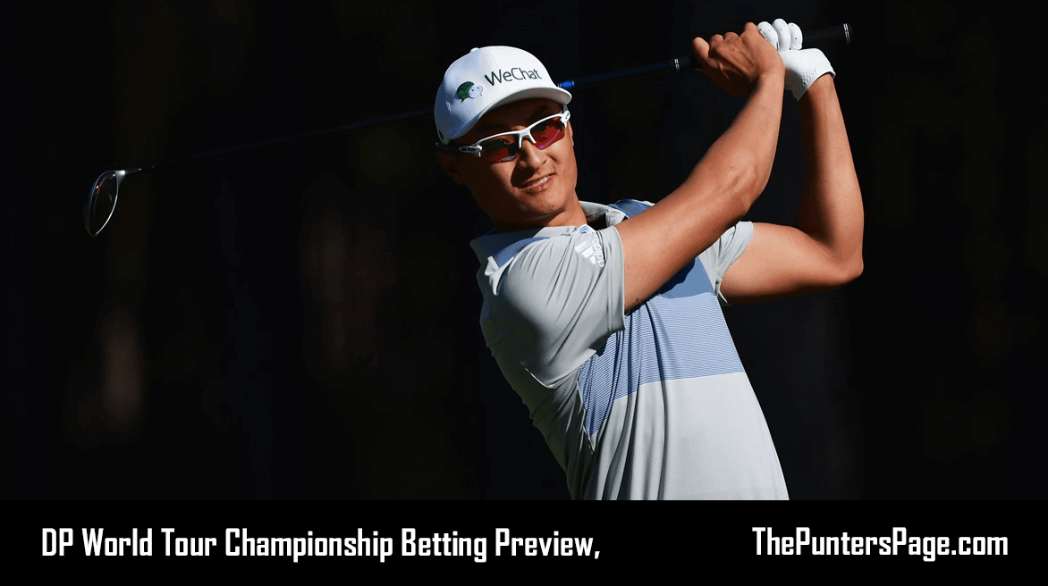 DP World Tour Championship Betting Preview, Odds & Tips