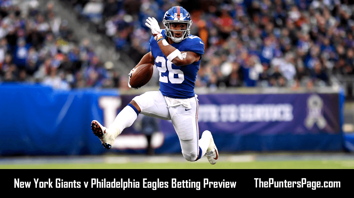 New York Giants v Philadelphia Eagles Betting Preview, Odds & Tips