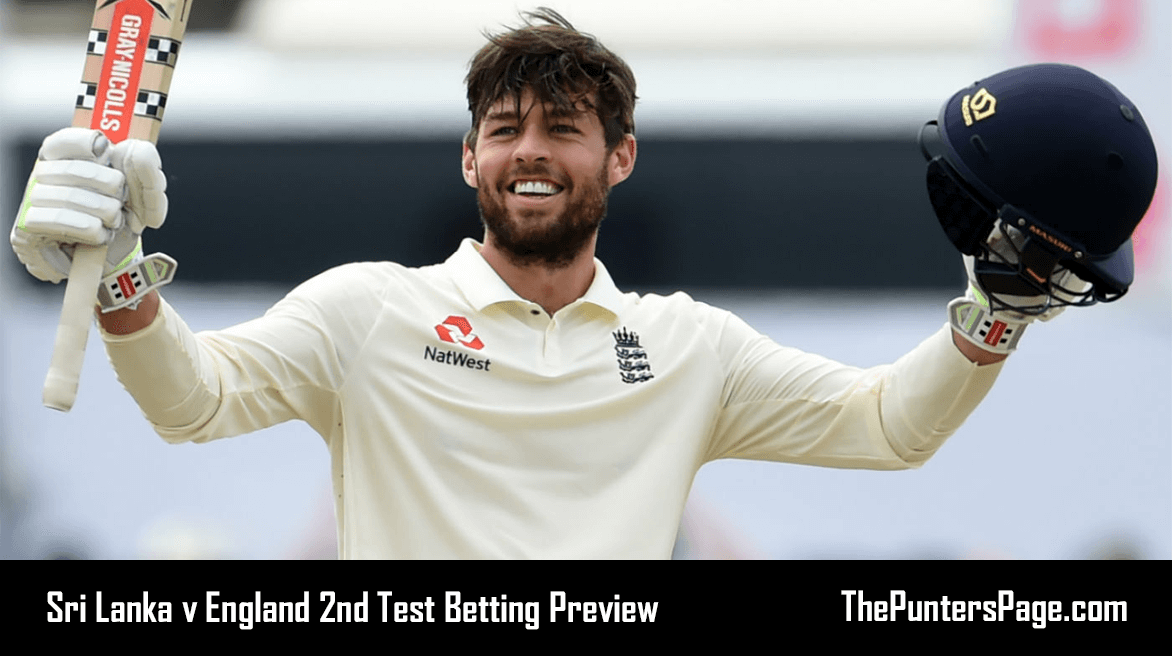 Sri Lanka v England 2nd Test Betting Preview & Tips