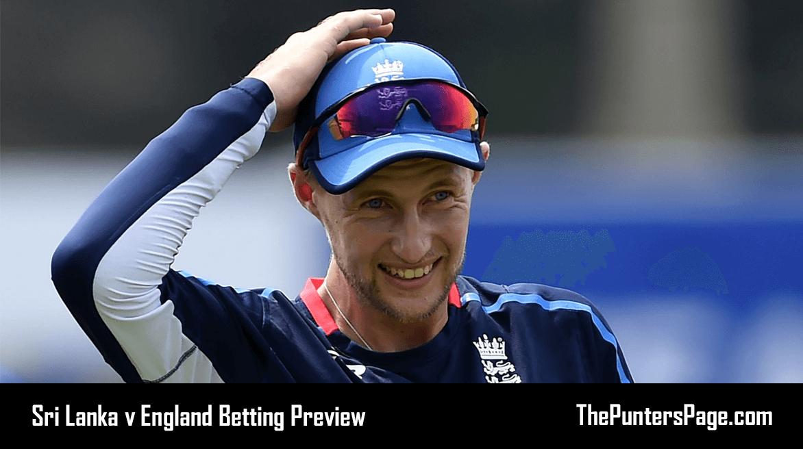 Sri Lanka v England Betting Preview, Odds & Tips