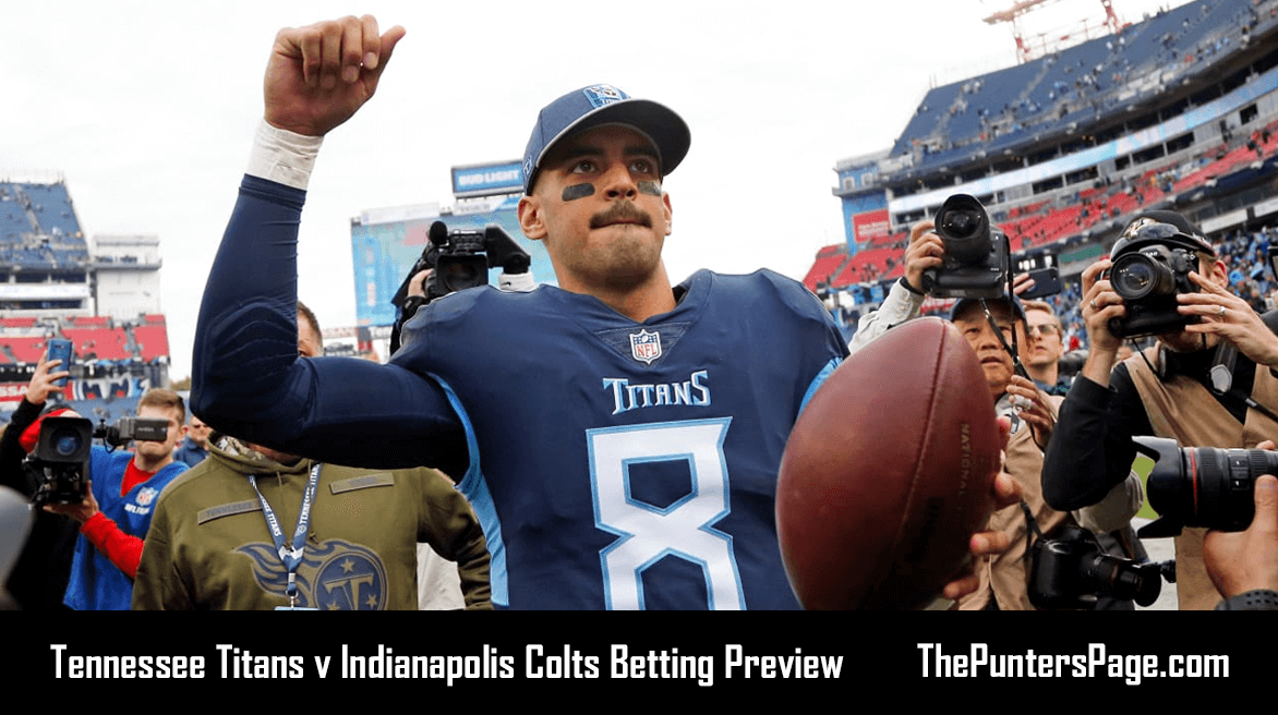 Titans v Colts Betting Preview, Odds & Tips
