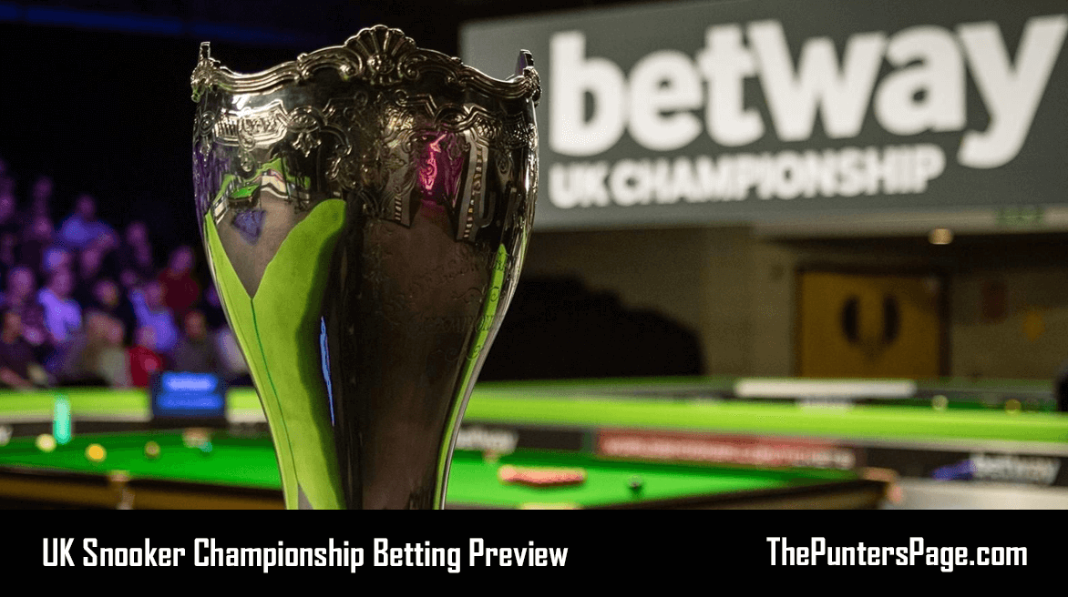 UK Snooker Championship Betting Preview, Odds & Tips