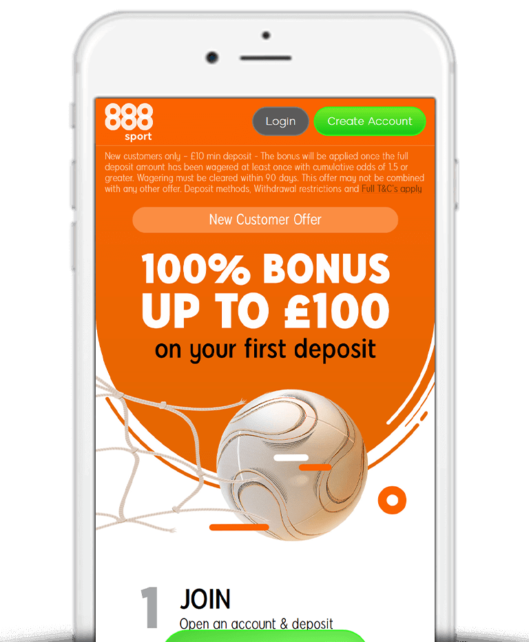 What Is The 888Sport Deposit Bonus Offer?
