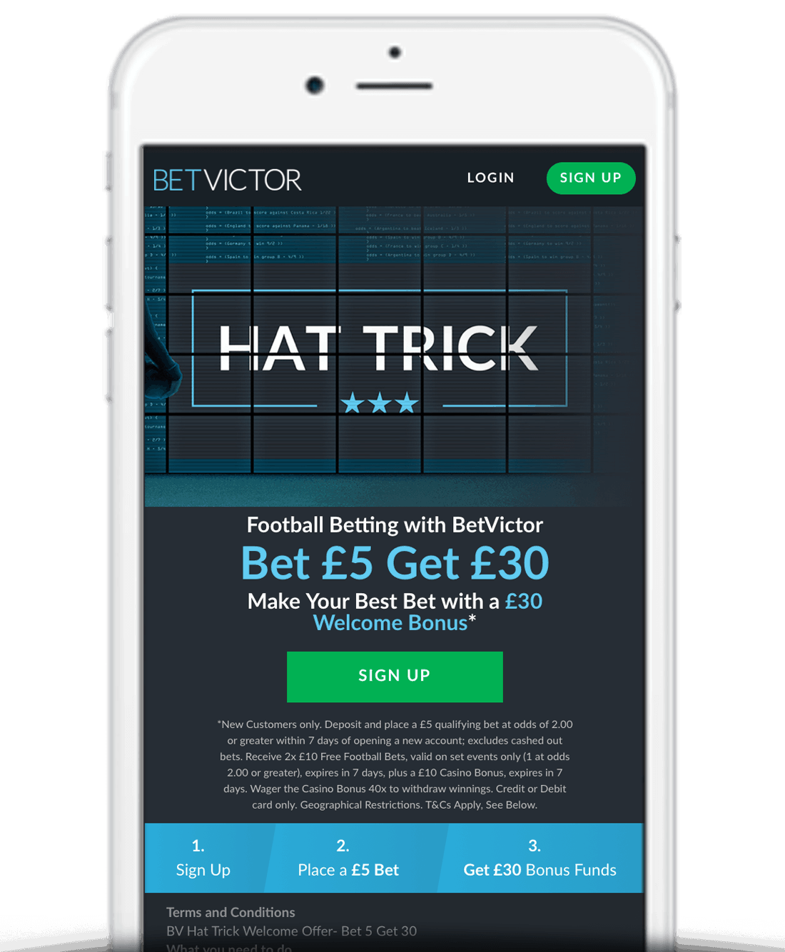 What Is The BetVictor Free Bet Sign Up Offer?
