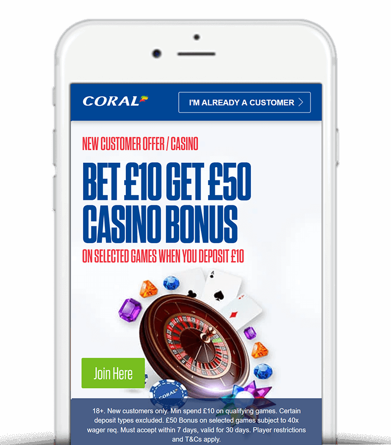 What Is The Coral Casino Bonus Offer