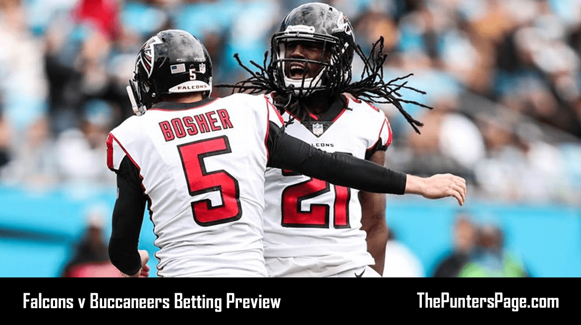 Falcons v Buccaneers Betting Preview, Odds & Tips