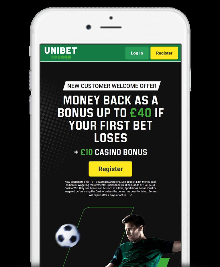 Unibet Mobile App Bonus