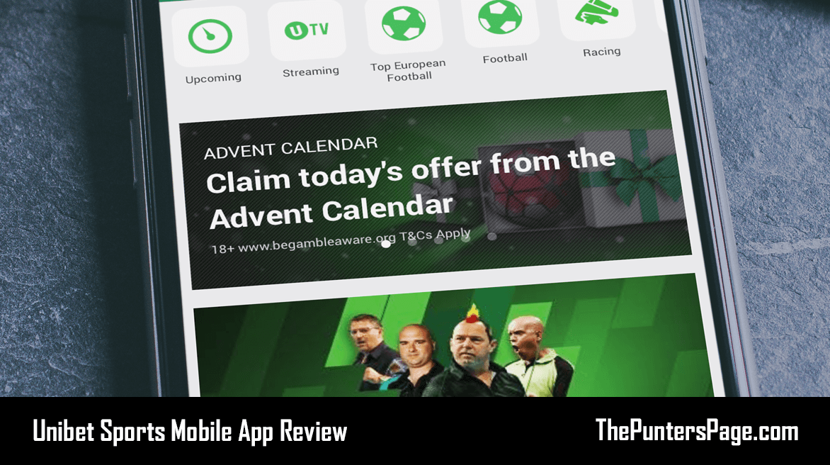 Unibet Mobile App Review + Download On Android & iPhone