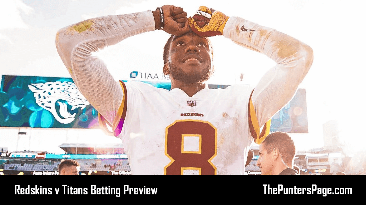 Washington Redskins @ Tennessee Titans Betting Preview, Odds & Tips