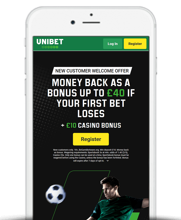 What Is The Unibet Bet £10 Get £40 Free Bet Sign Up Offer?