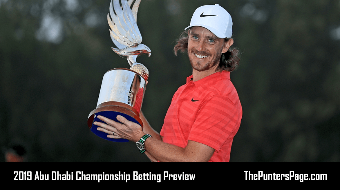 2019 Abu Dhabi Championship Betting Preview, Odds & Tips