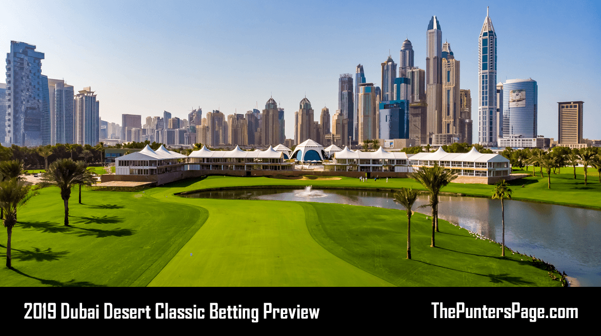 2019 Dubai Desert Classic Betting Preview, Odds & Tips