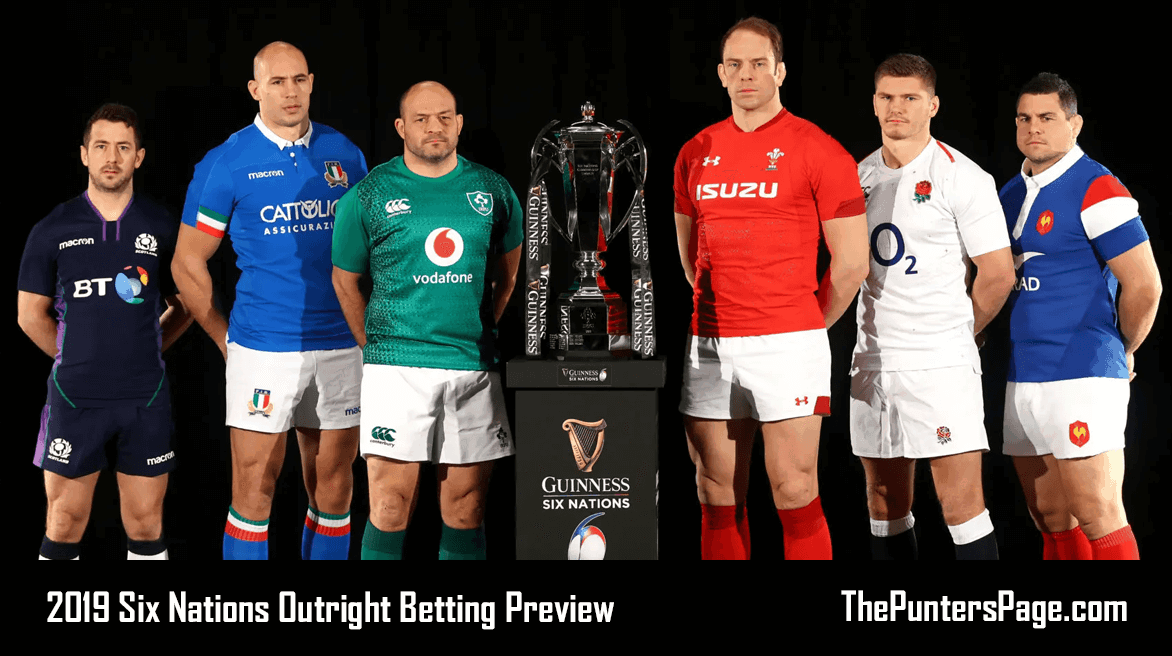 2019 Six Nations Outright Betting Preview & Tips