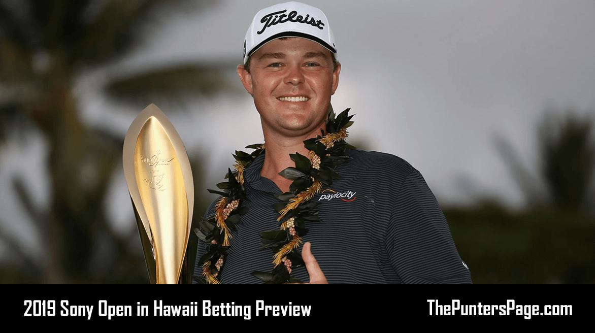 2019 Sony Open in Hawaii Betting Preview, Odds & Tips