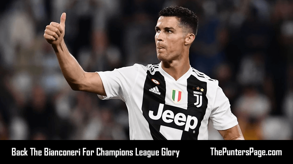 Back The Bianconeri For Champions League Glory.