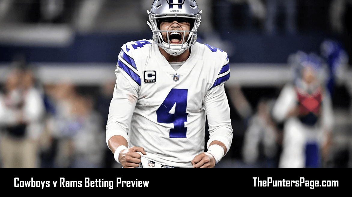 Dallas Cowboys v Los Angeles Rams Betting Preview, Odds & Tips
