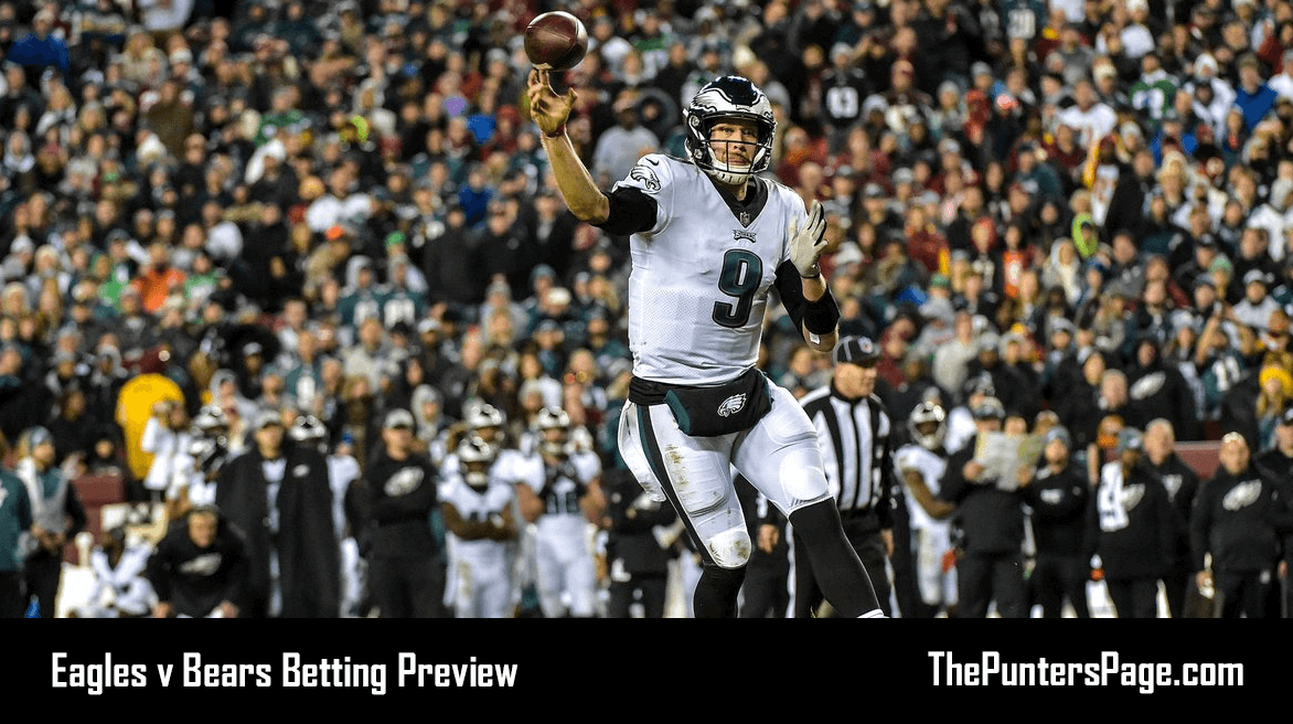 Eagles v Bears Betting Preview, Odds & Tips