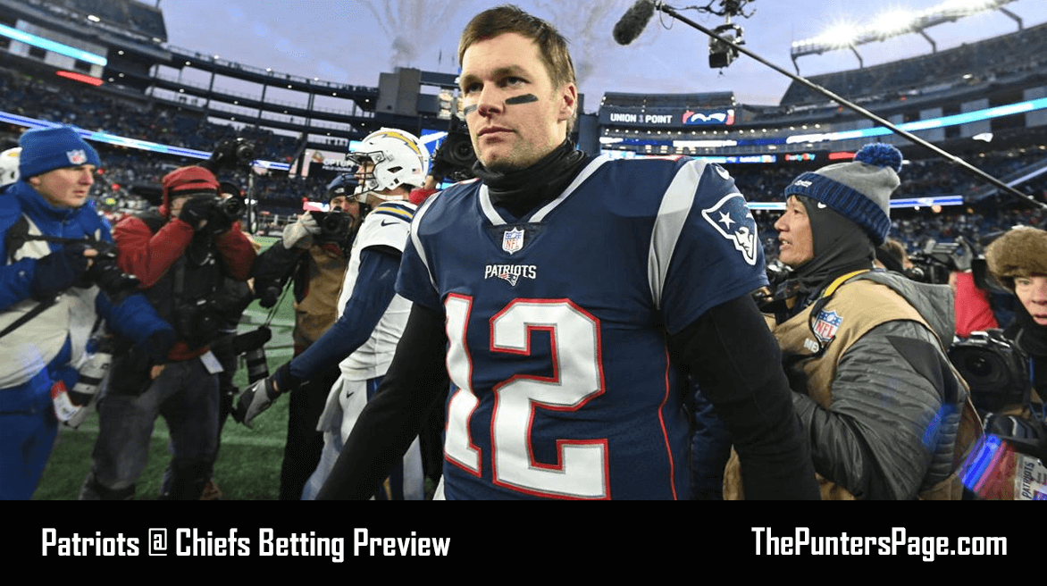 New England Patriots @ Kansas City Chiefs Betting Preview, Odds & Tips