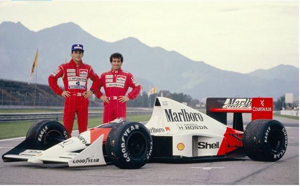 Senna v Prost
