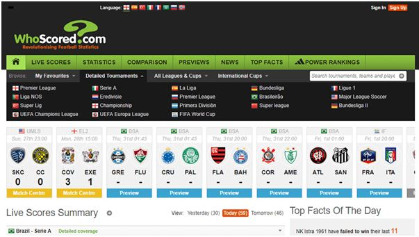 football betting stats sites