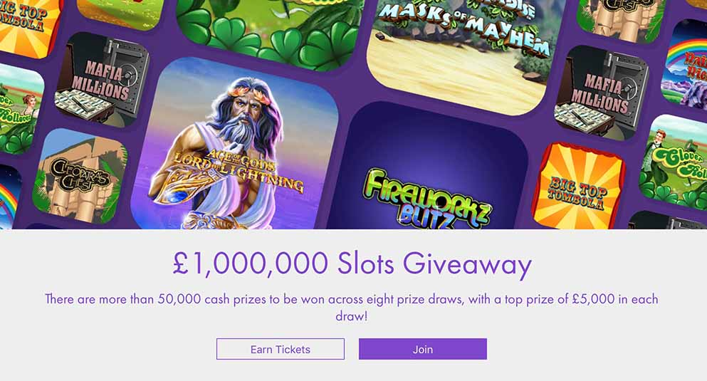 Bet365 Million Pound Slots Giveaway For New Existing Customers