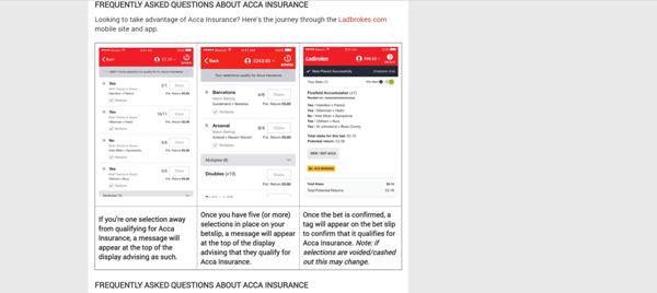 how to use acca insurance