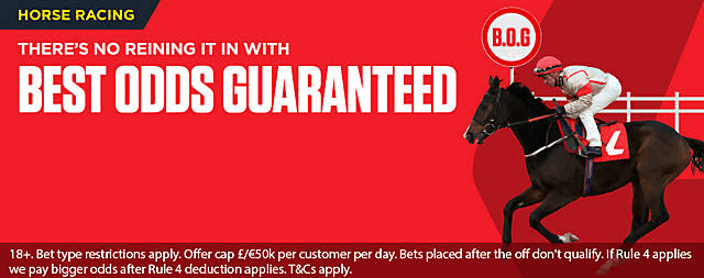 Ladbrokes Best Odds Guaranteed Horse Racing
