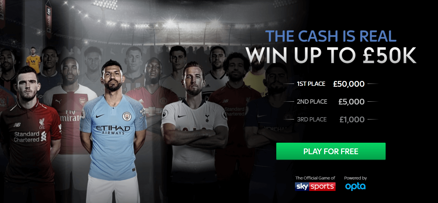 sky sports fantasy football banner