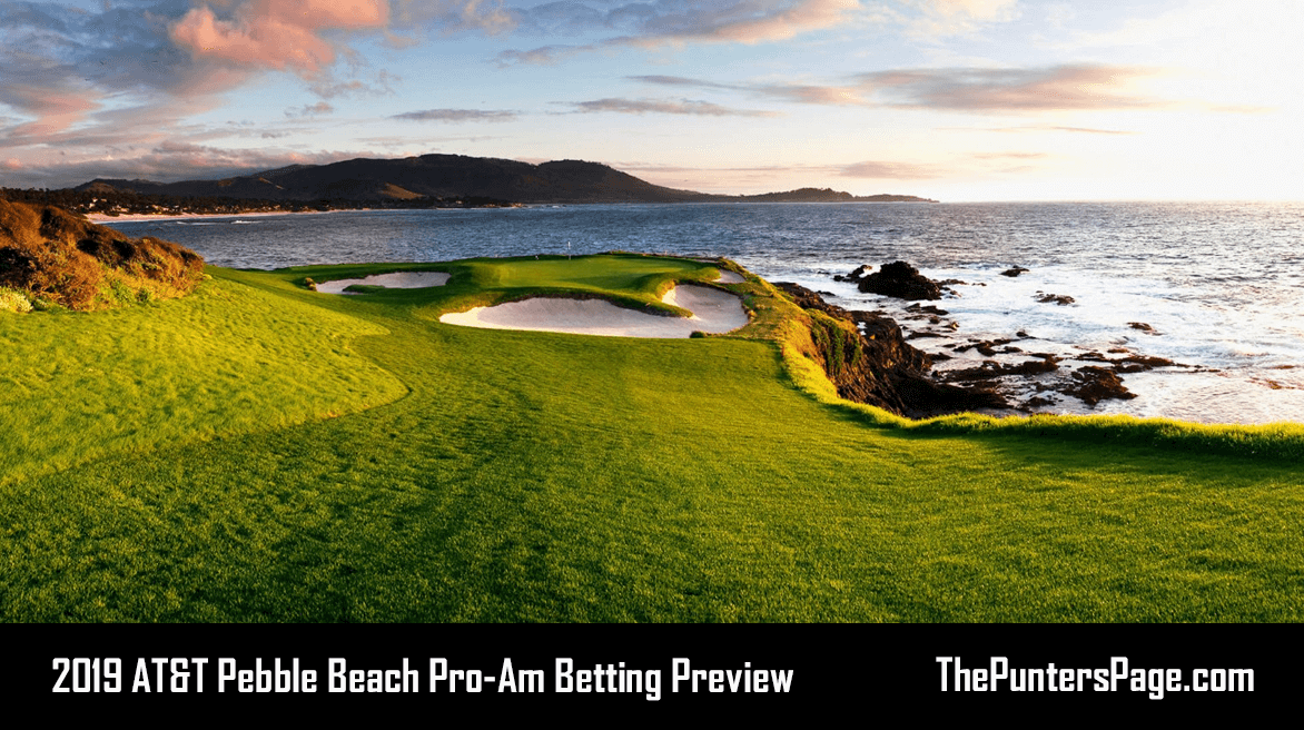 2019 AT&T Pebble Beach Pro-Am Betting Preview, Odds & Tips