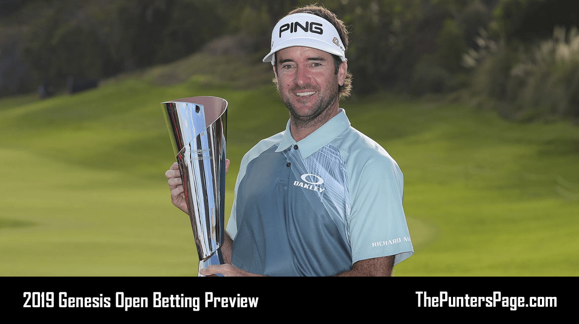 2019 Genesis Open Betting Preview, Odds & Tips