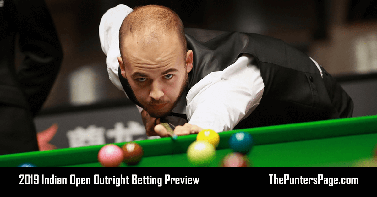 2019 Indian Open Outright Betting Preview